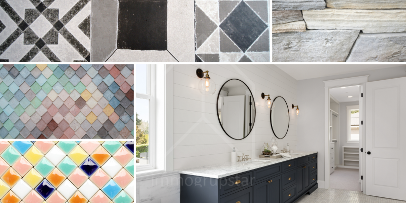 How to choose tiles for bathrooms
